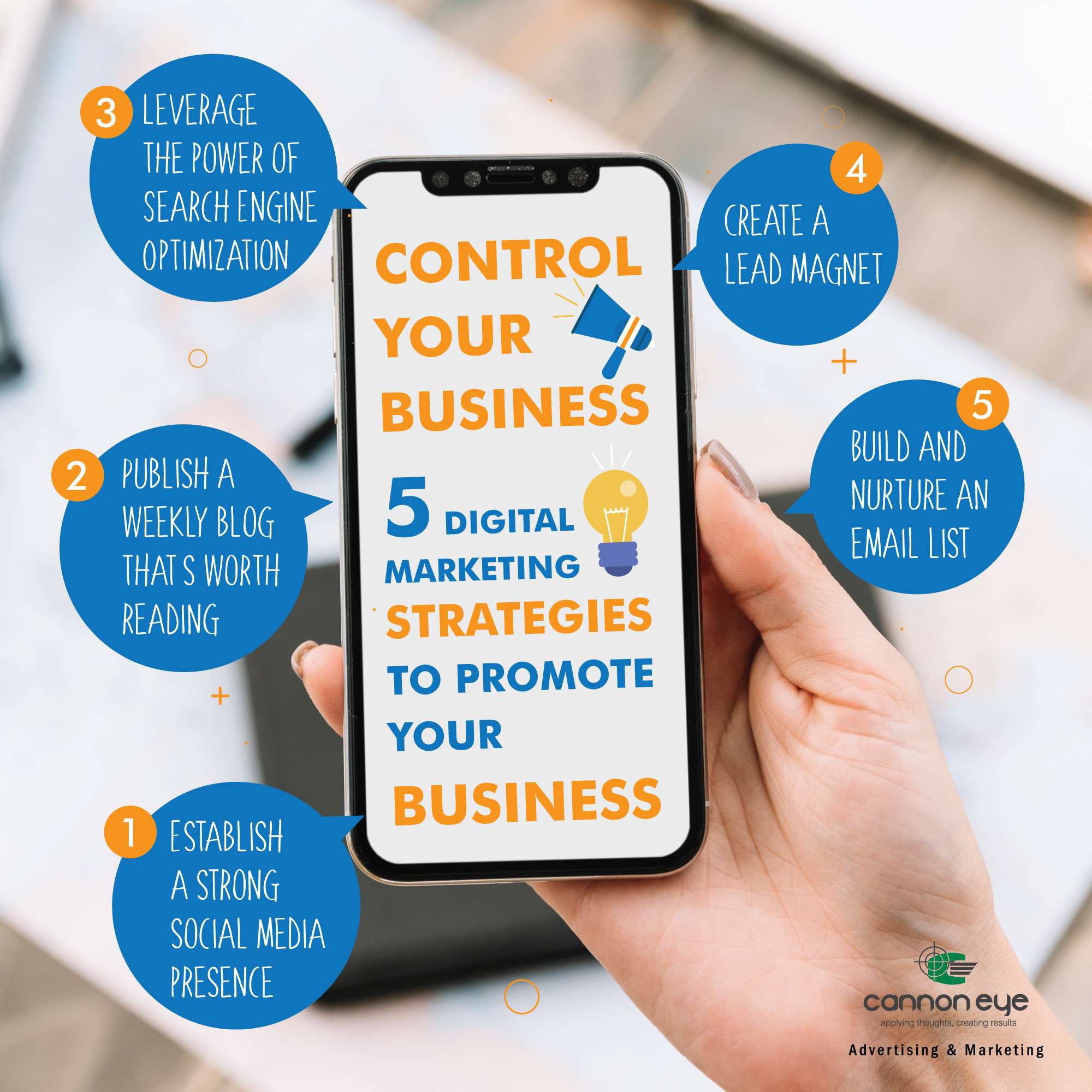 5 Digital Marketing Strategies to Promote Your Business IMAGE